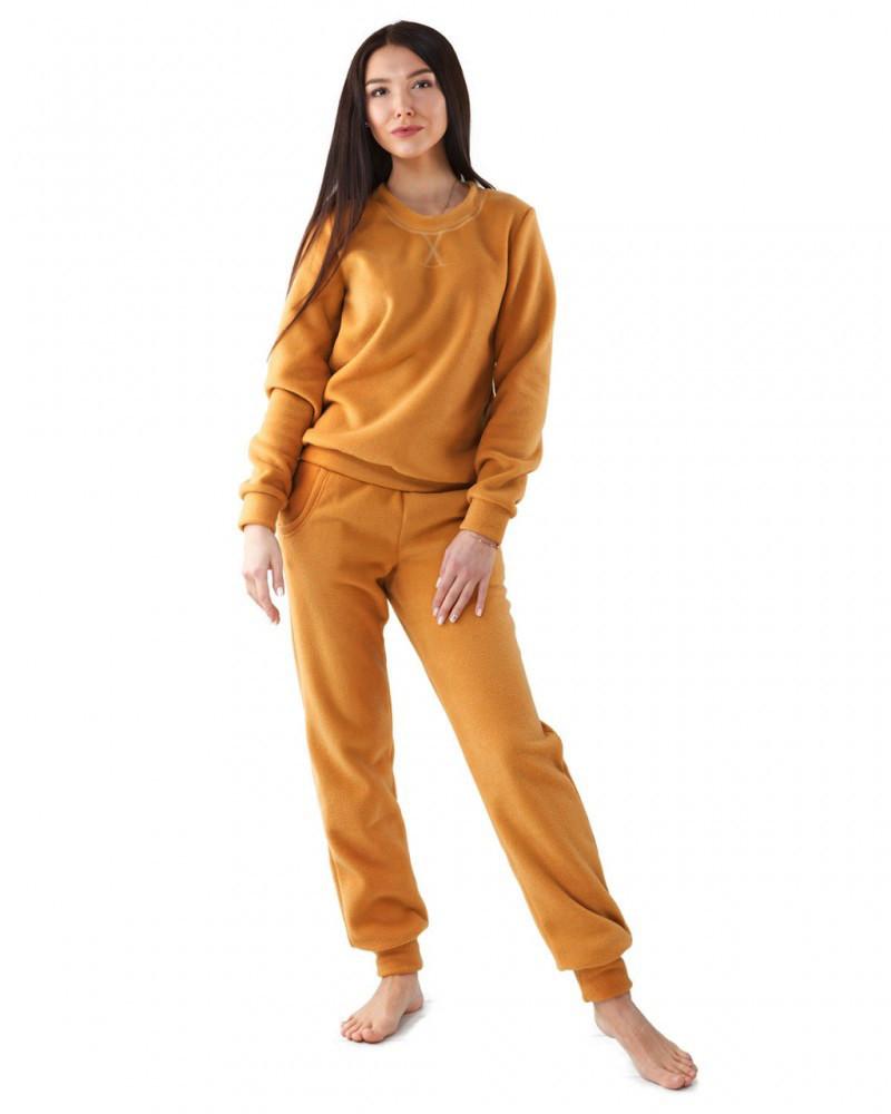 Флисовый домашний костюм (размеры XS-2XL в расцветках)