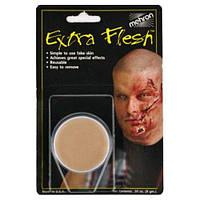 MEHRON Искусственная кожа с закрепителем Extra Flesh and Fixative A, фото 1