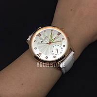 Женские наручные часы Weesky белые круглый циферблат