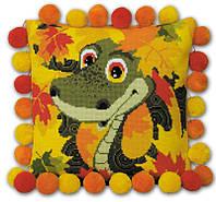"""Набор для вышивания подушки """"Маленький змей"""""""