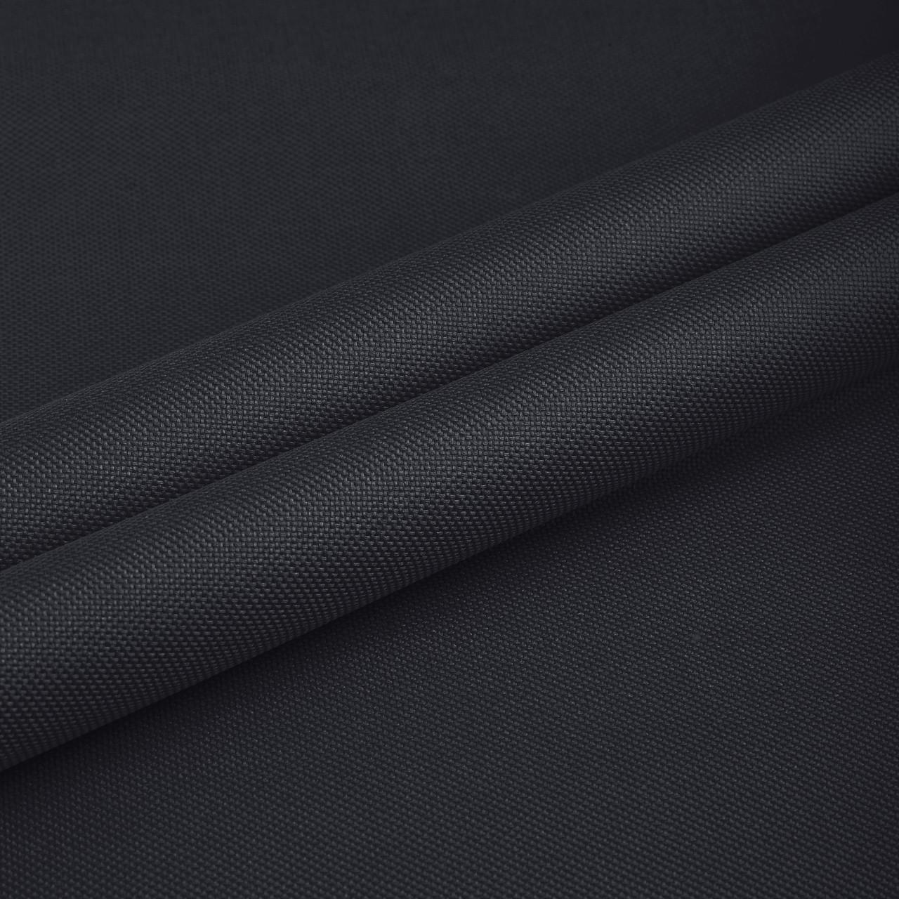 Ткань сумочная оксфорд 600D PE 4x3 Чёрный