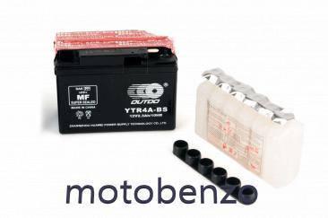 АКБ   12V 2,3А   кислотный, Suzuki   114x39x87 GT  4B-5 +электролит OUTDO, фото 2