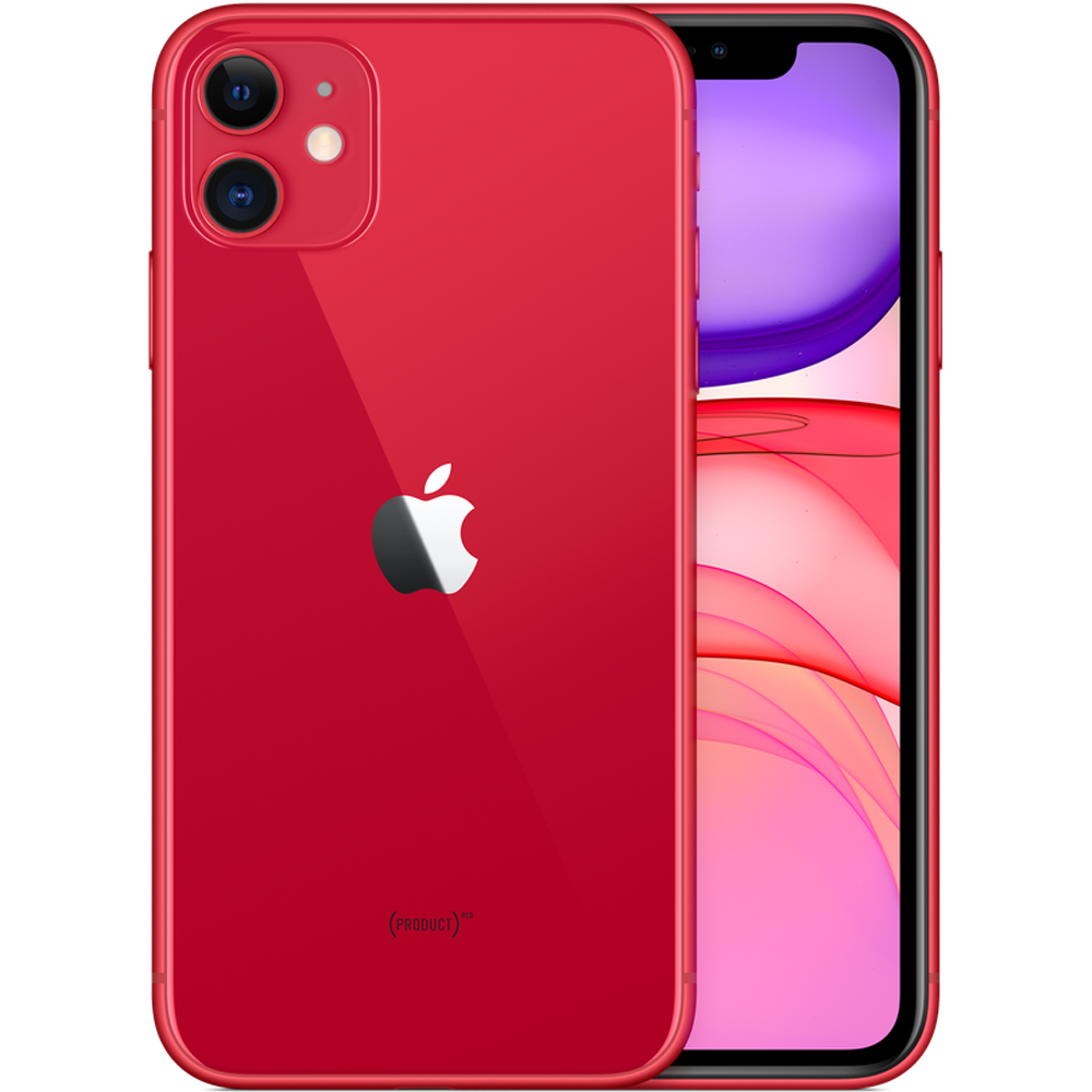 Смартфон Apple iPhone 11 64GB Product Red (MWL92)