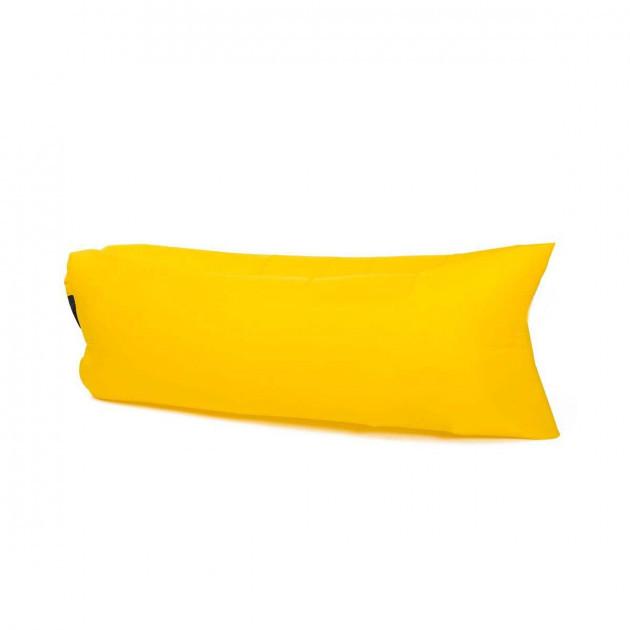 Надувной лежак гамак 240 см шезлонг диван Желтый