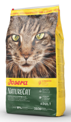 Josera Nature Cat беззерновой корм для дорослих кішок 10 кг