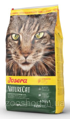 Josera Nature Cat беззерновой корм для дорослих кішок 10 кг, фото 2