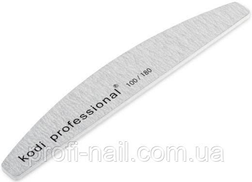 Пилка для ногтей Half Grey 180/100
