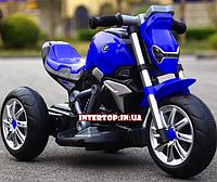 Электромотоцикл детский Bambi, M 3639-4 синий