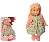 Кукла M 3865 UA мягконабив,42см, муз (укр-песня), в кор 20-40-17см