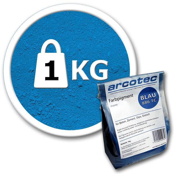 Синий пигмент для бетона 1 кг Arcotec
