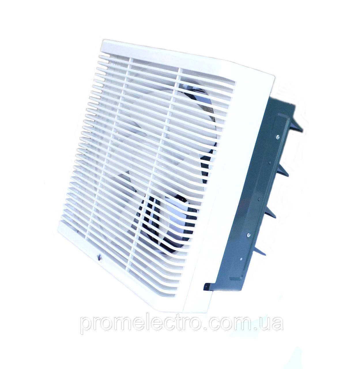 Осевой реверсивный оконный вентилятор ОВР 200