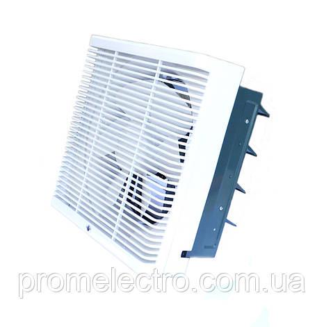 Осевой реверсивный оконный вентилятор ОВР 200, фото 2