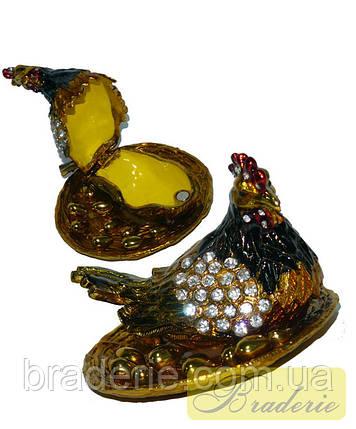 Шкатулка ювелирная Курочка ряба 286, фото 2