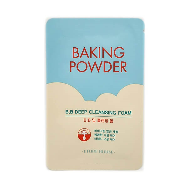 BAKING POWDER B.B. deep cleansing foam Etude House, пробник