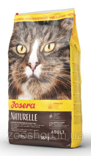 Josera Naturelle сухий беззерновой корм для стерилізованих котів 400 г