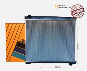 Радіатор без рами [perfekt cooling] SCANIA R, T [8/95-]