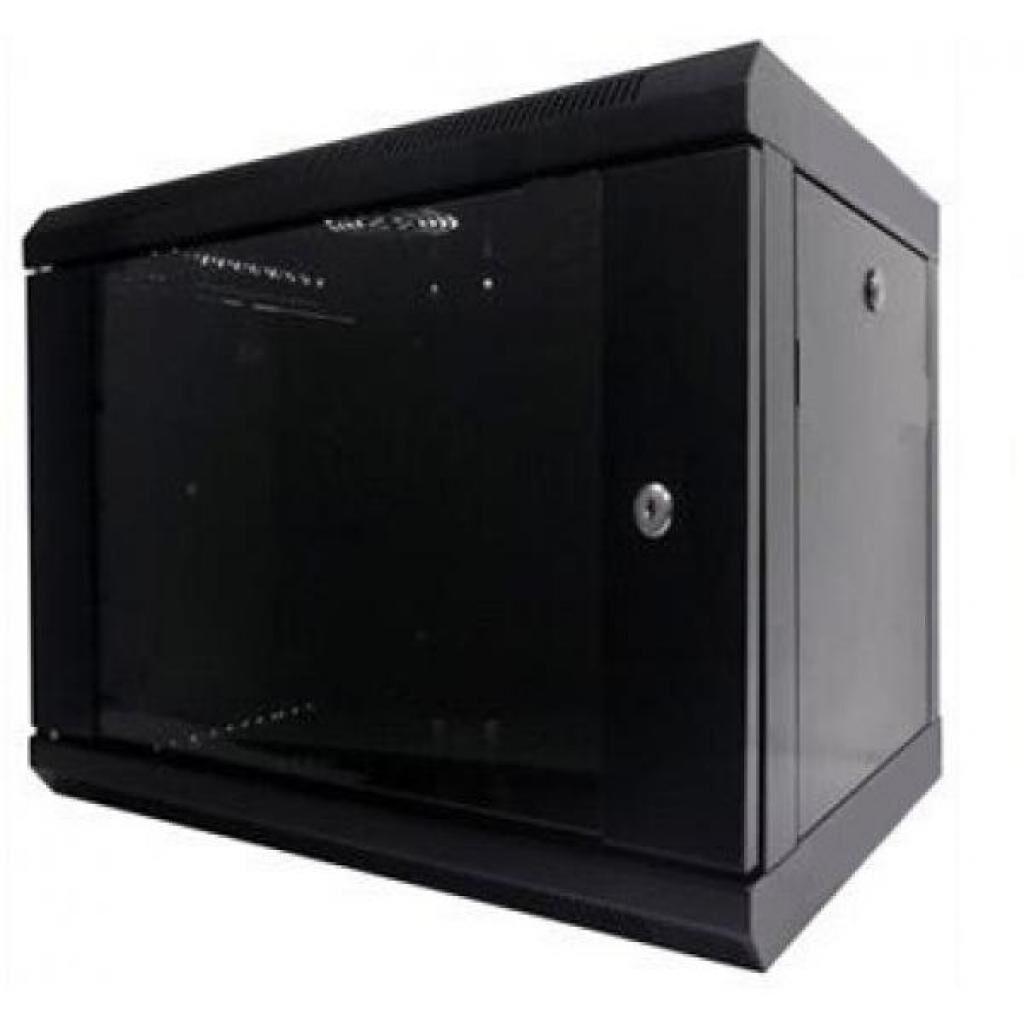 """Шкаф настенный Hypernet 9U 19"""" 600x450 (WMNC-9U-FLAT-BLACK)"""