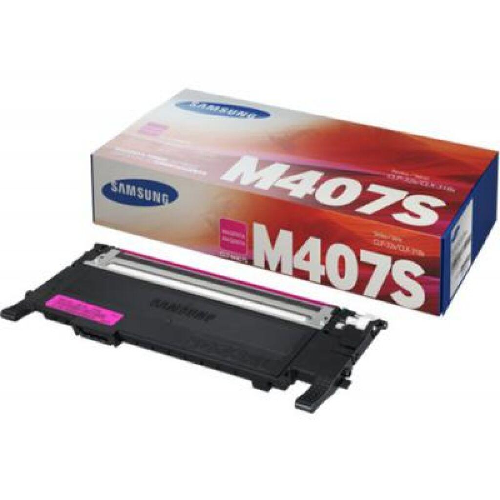 Картридж Samsung CLP-320/320N/325, CLX-3185 magenta, CLT-M407S (SU266A)