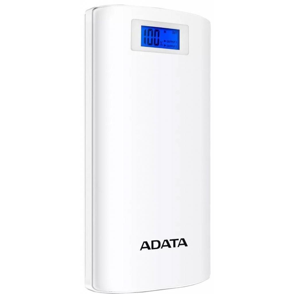 Батарея универсальная ADATA P20000D 20000mAh White (AP20000D-DGT-5V-CWH)