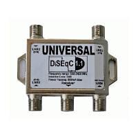 Переключатель DiSEqC 1.1 4x1 Universal R150761