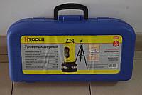 Лазерний нівелір Htools 29B909, самовирівнюючий, тринога.
