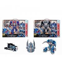 Игровой набор для мальчиков «Трансформер-робот-машина» 2 цвета, фото 1