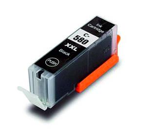 Картридж Canon PGI-580 XL Black (PGI-580BK) совместимый, увеличенная ёмкость (400 копий), аналог от Gravitone