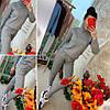 Шикарный спортивный костюм декорирован узором,трикотаж.Размер: 42-44. Цвета разные (0831), фото 2
