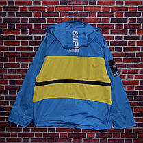 Куртка Supreme x The North Face SteepTech Blue/Yellow, фото 2