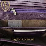 Кошелёк женский кожаный лаковый на магните Mario Dion ( 801A) разные расцветки, фото 5