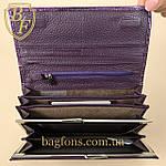 Кошелёк женский кожаный лаковый на магните Mario Dion ( 801A) разные расцветки, фото 6