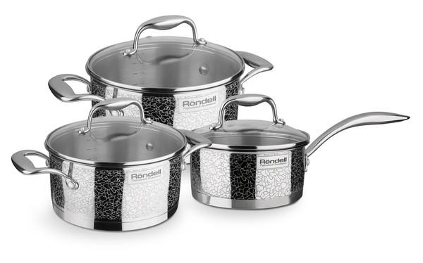 Набор посуды RONDELL RDS-379 Vintage 6 пред 5л+3л+1.5л (RDS-379)