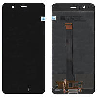 Дисплейный модуль (экран) для Huawei P10 Plus (VKY-L09, VKY-L29, VKY-AL00) Чёрный