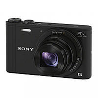 Компактний фотоапарат Sony DSC-WX350 Black