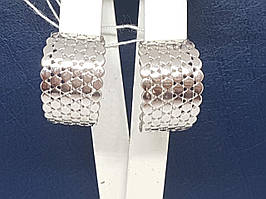 Серебряные серьги Матрикс. Артикул 2977Р