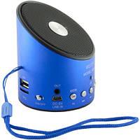 Колонка портативная USB, FM, MP3 WSTER WS-A9 Синий, фото 1