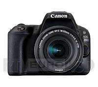 Фотоапарат Canon EOS 200D + EF-S 18-55mm f/4-5.6 IS STM белый цвет