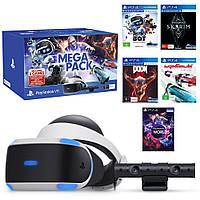 Шлем виртуальной реальности Sony PlayStation VR V2 MegaPack + PS Camera V2 +5игр