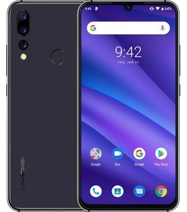 "Смартфон Umidigi A5 Pro 4/32Gb Black, 16+8+5/16Мп, Helio P23, 2sim, 6.3"" IPS, 4150mAh, 8 ядер"
