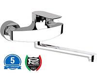 Смеситель для кухни однорычажный настенный Италия REMER I41