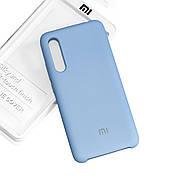 Силиконовый чехол на Xiaomi Mi A3 Soft-touch Sky Blue