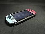 Портативная приставка PSP X7 Plus Голубой + Красный 8GB / 9999 игр встроенно, фото 2