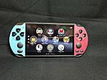 Портативная приставка Sony PSP X7 Plus Голубой + Красный 8GB / 9999 игр встроенно, фото 10