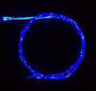 Светящийся шнур для зарядки телефона ABX 1 мкабель синхронизации USB – microUSB Синий