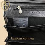 Кошелёк женский кожаный лаковый на магните Mario Dion ( 801A) разные расцветки черный, фото 5