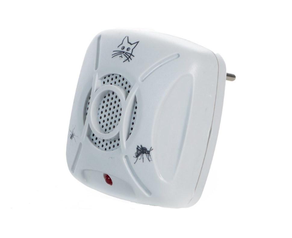 Отпугиватель ультразвуковой KEDIQI E-901E от комаров, тараканов и мышей