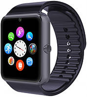 Умные смарт-часы Bluetooth Smart Watch UWatch GT08 Черный
