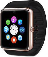 Умные смарт-часы Bluetooth Smart Watch UWatch GT08 Золото