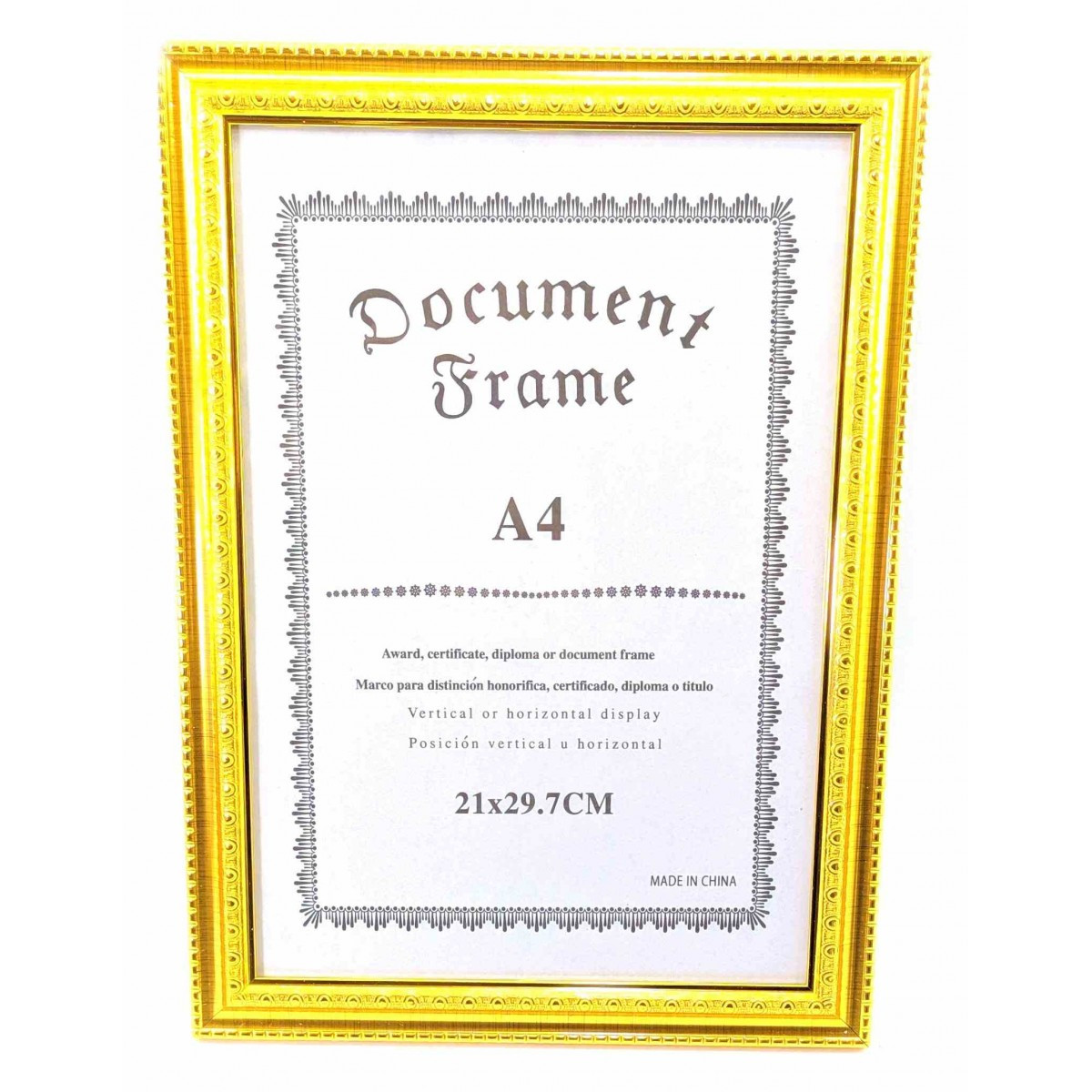 Фоторамка для сертификатов, грамот, дипломов