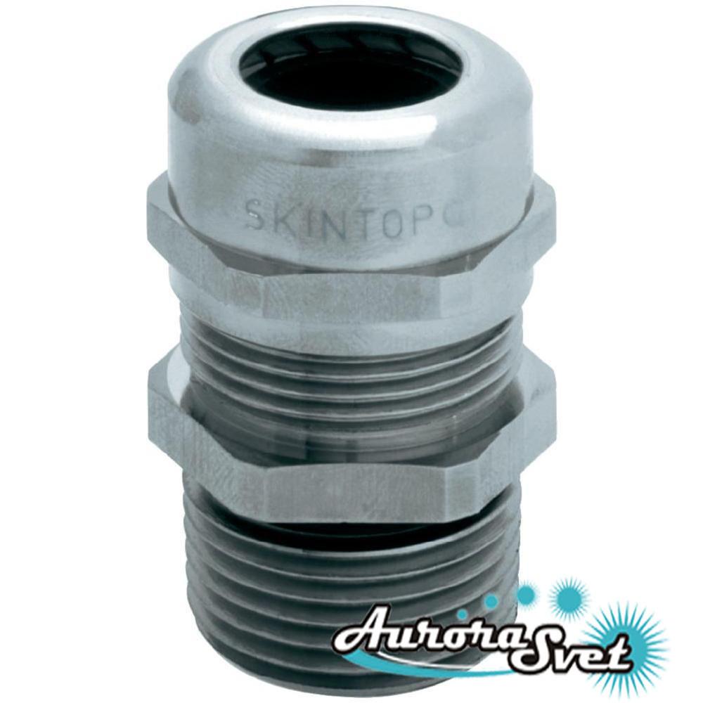 SKINTOP® MSR-M-XL, M16x1,5 латунный кабельный сальник IP68 с удлинённой резьбой. Кабельный ввод.